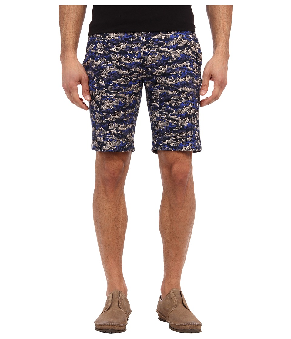 Gant Rugger - R. Ocean Camo Short (Ocean Blue) Men's Shorts