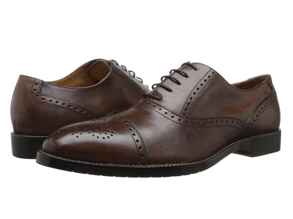 Gordon Rush - Whitney (Chestnut) Men's Lace Up Cap Toe Shoes