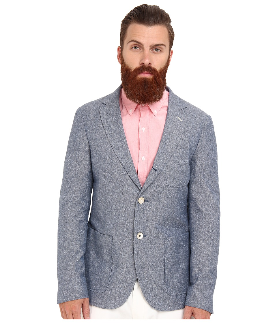 Gant Rugger - R. The Granpa Blazer (Light Marine) Men's Jacket
