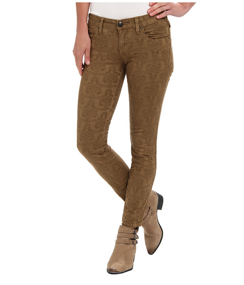 Free People - Jacquard Pant (Gold) Women