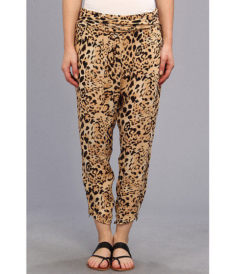 Free People - Cheetah Twisted Harem (Natural Combo) Women