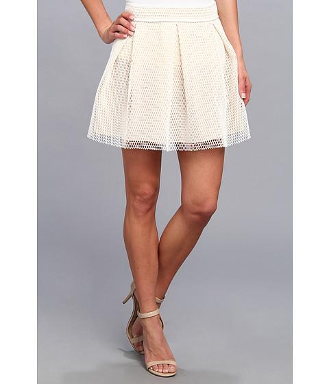 Gabriella Rocha - Hannah Skater Skirt (Ivory) Women's Skirt