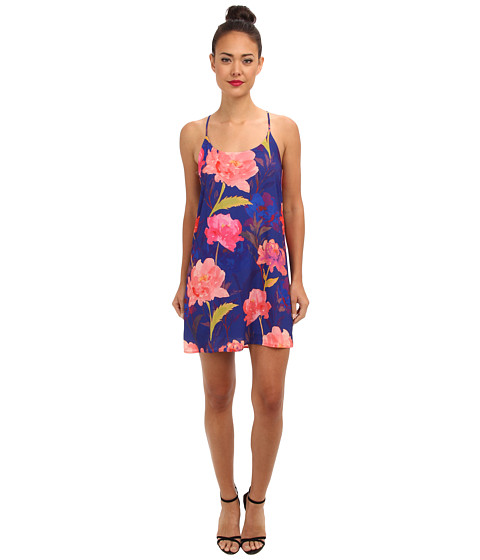 Gabriella Rocha - Sky Blue Floral Tank Dress (Royal) Women