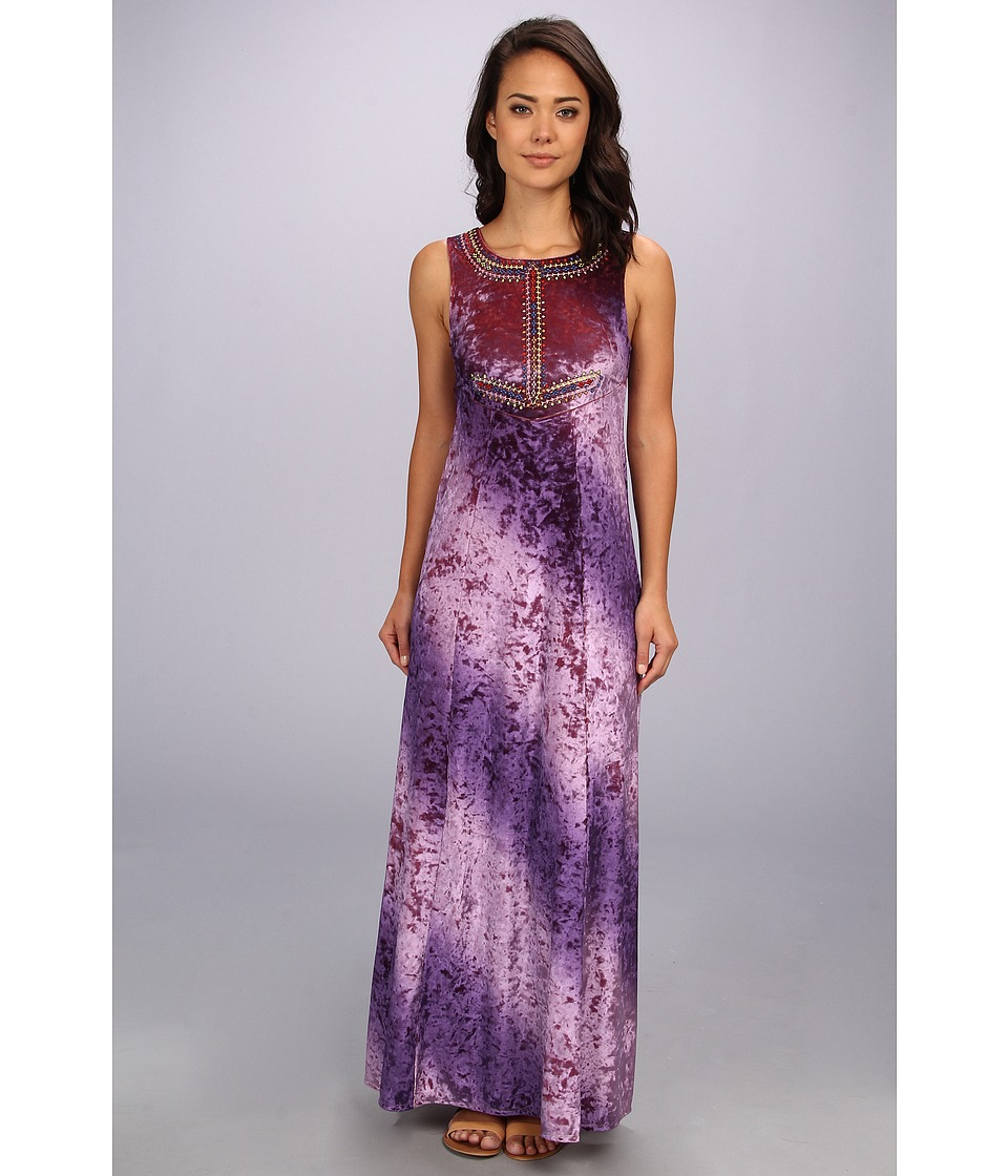 Free People - Hello Gorgeous Dress (Purple Combo) Women's Dress