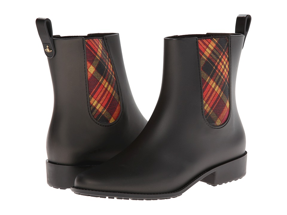 Vivienne Westwood - Riding Boot (Black) Women's Pull-on Boots