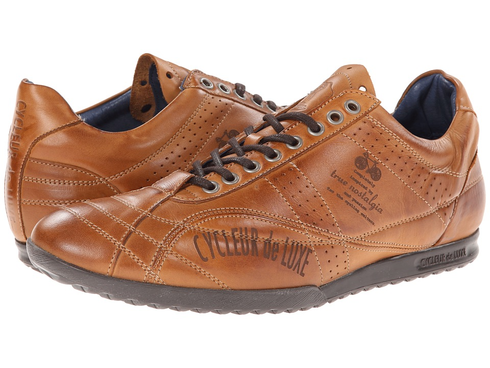 Cycleur de Luxe - Favour B (Cognac) Men's Cycling Shoes