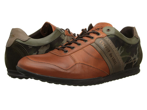Cycleur de Luxe - Crash (Dark Khaki/Rust) Men's Shoes