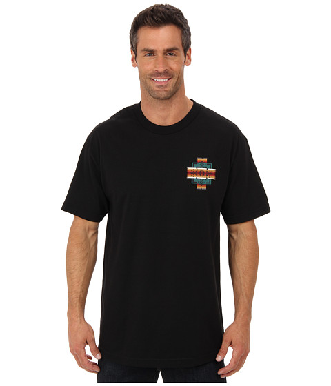 Pendleton - S/S Chief Jo Logo T-Shirt (Black) Men