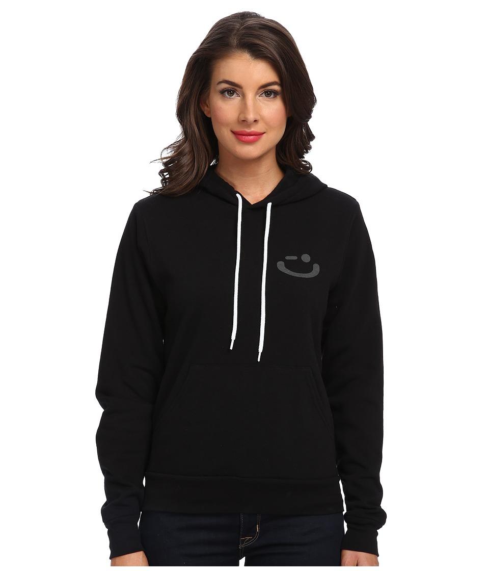 Delivering Happiness - DPP Hoodie (Black) Women's Sweatshirt