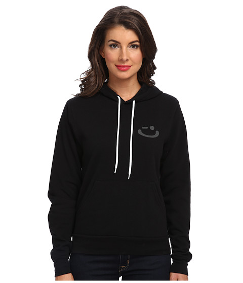 Delivering Happiness - DPP Hoodie (Black) Women's Sweatshirt
