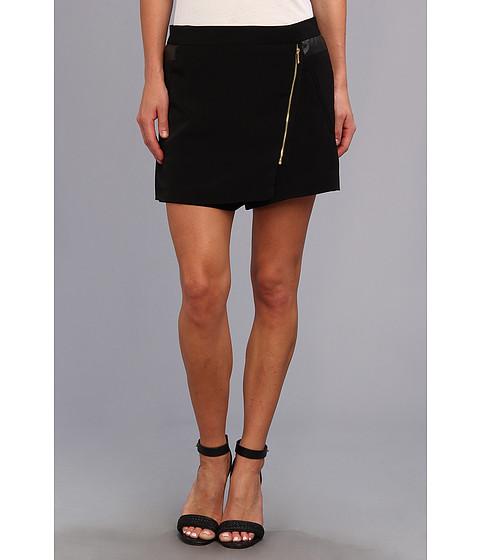 Calvin Klein - Moto Shorts w/ Zips (Black) Women