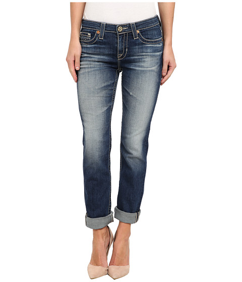 Big Star - Kate Straight Leg Jean in 12 Year Marina (12 Year Marina) Women's Jeans