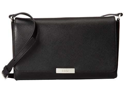 ECCO - Firenze Crossbody (Black) Cross Body Handbags