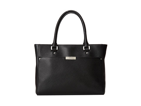 ECCO - Firenze Small Tote (Black) Tote Handbags