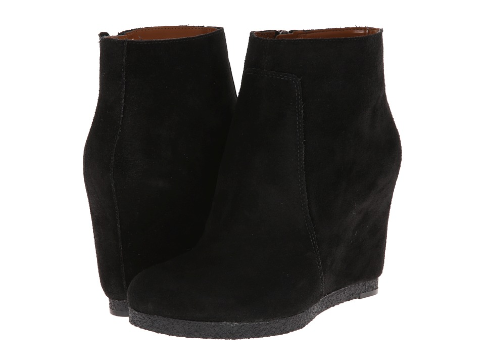 Nine West - Blacklight (Black Suede) Women's Zip Boots
