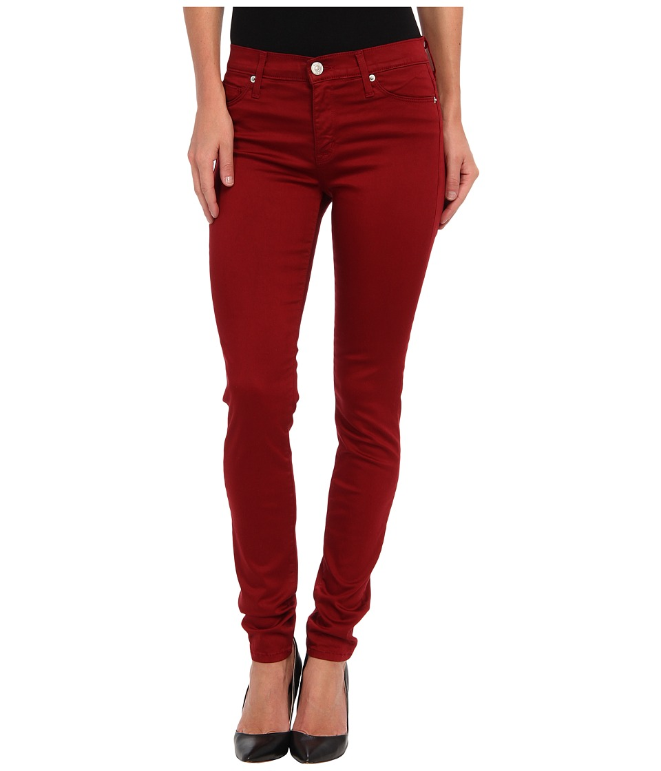 Hudson - Nico Mid-Rise Super Skinny in Cinnabar (Cinnabar) Women's Jeans