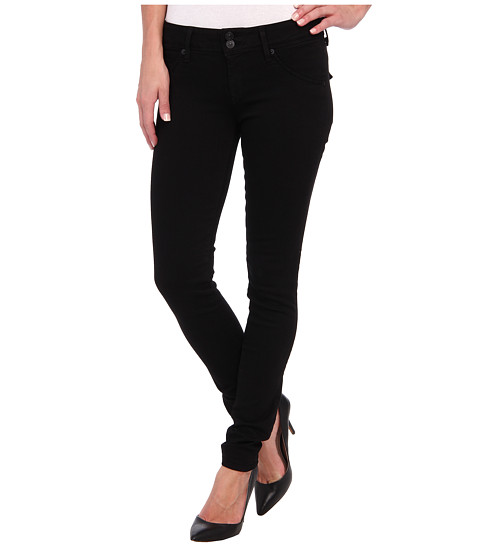 Hudson - Collin Skinny in Black (Black) Women's Jeans