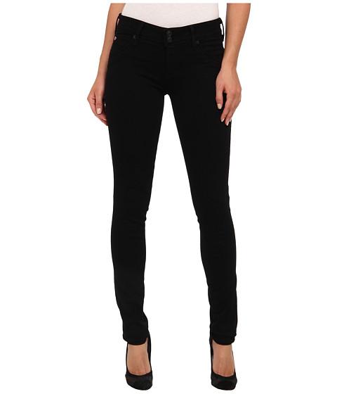 Hudson - Supermodel Collin Skinny 34 Inseam in Black (Black) Women's Jeans