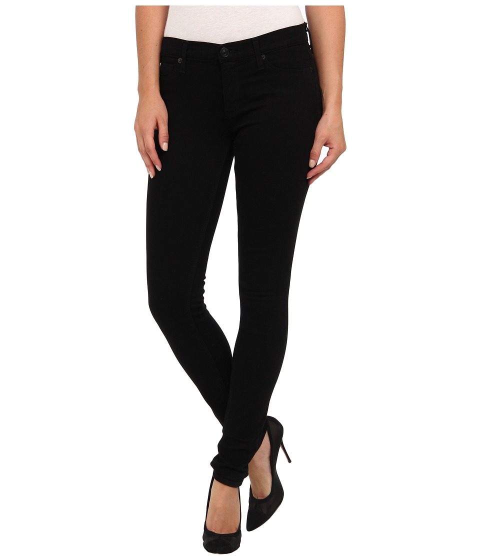 Hudson - Supermodel Krista Super Skinny 32 Inseam in Black (Black) Women