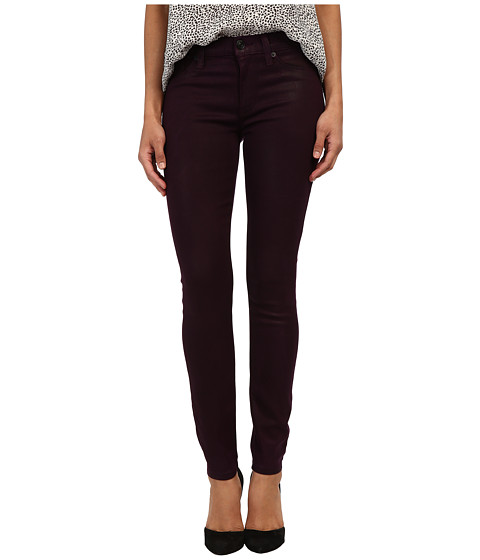 Hudson - Nico Mid-Rise Super Skinny in Mulberry Wax (Mulberry Wax) Women's Jeans