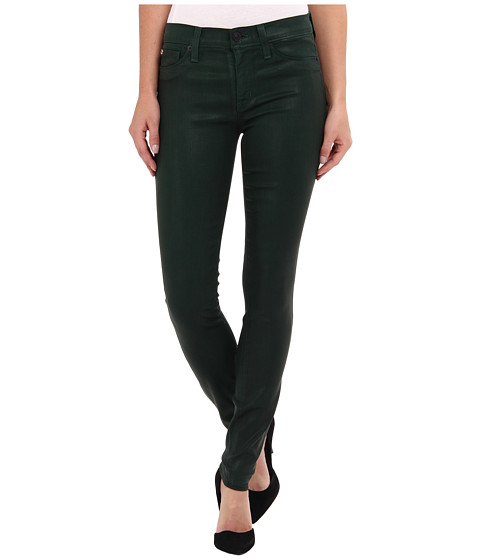 Hudson - Nico Midrise Super Skinny in Green Envy (Green Envy) Women