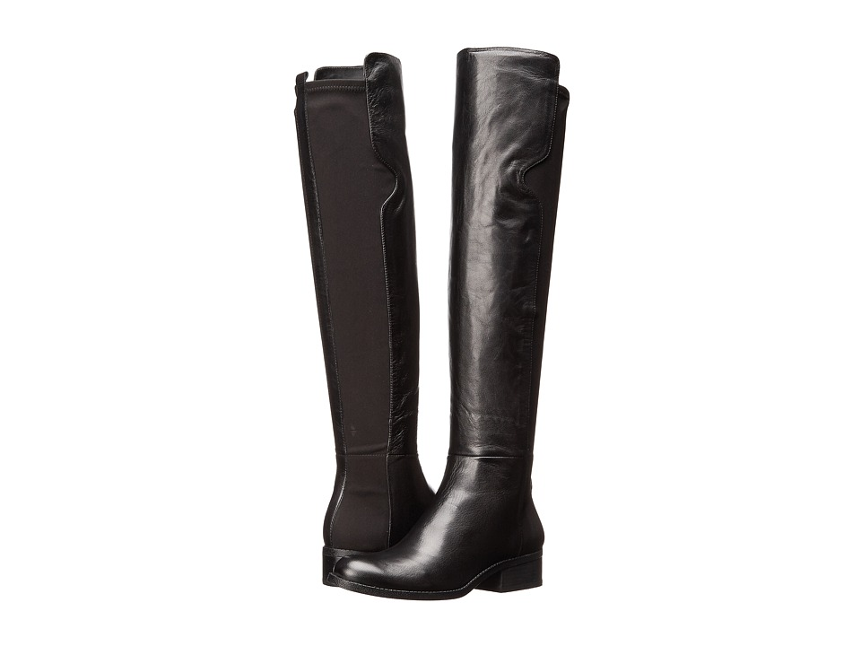 Nine West - Pristeen (Black/Black Leather) Women