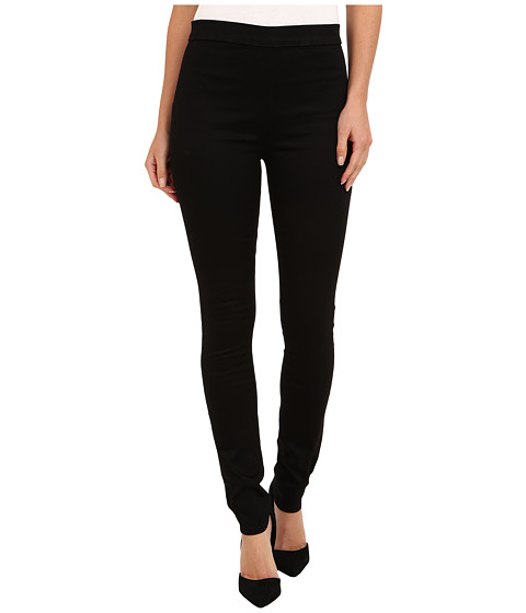 Hudson - Evelyn High Rise Super Skinny Sateen in Black Knight (Black Knight) Women