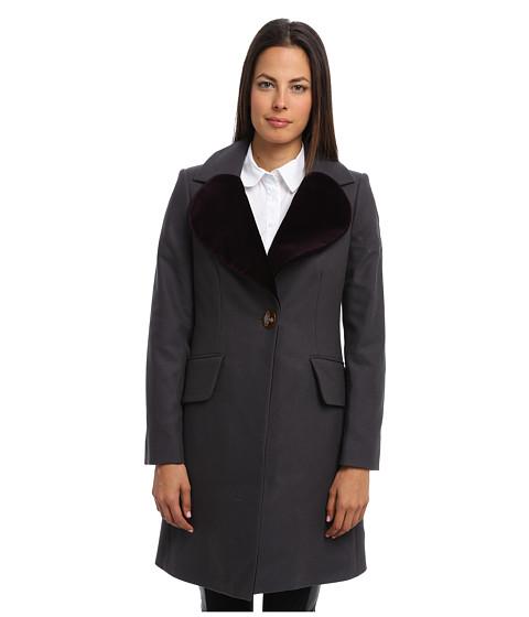 Vivienne Westwood Red Label - 3/4 Trench Coat (Dark Grey) Women's Coat