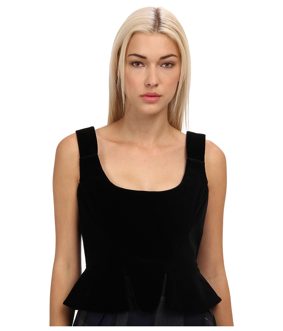 Vivienne Westwood Red Label - Vvelver Bustier (Black) Women's Sleeveless