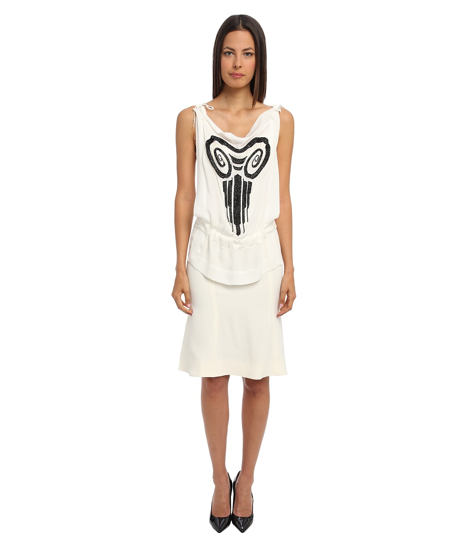 Vivienne Westwood - Beaded Short Dress (Ivory) Women's Dress