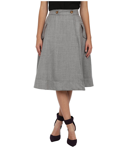 Vivienne Westwood Red Label - Full Skirt (Grey) Women