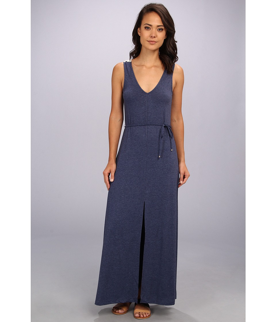 DV by Dolce Vita - Embroidered Panel Maxi (Navy) Women's Dress