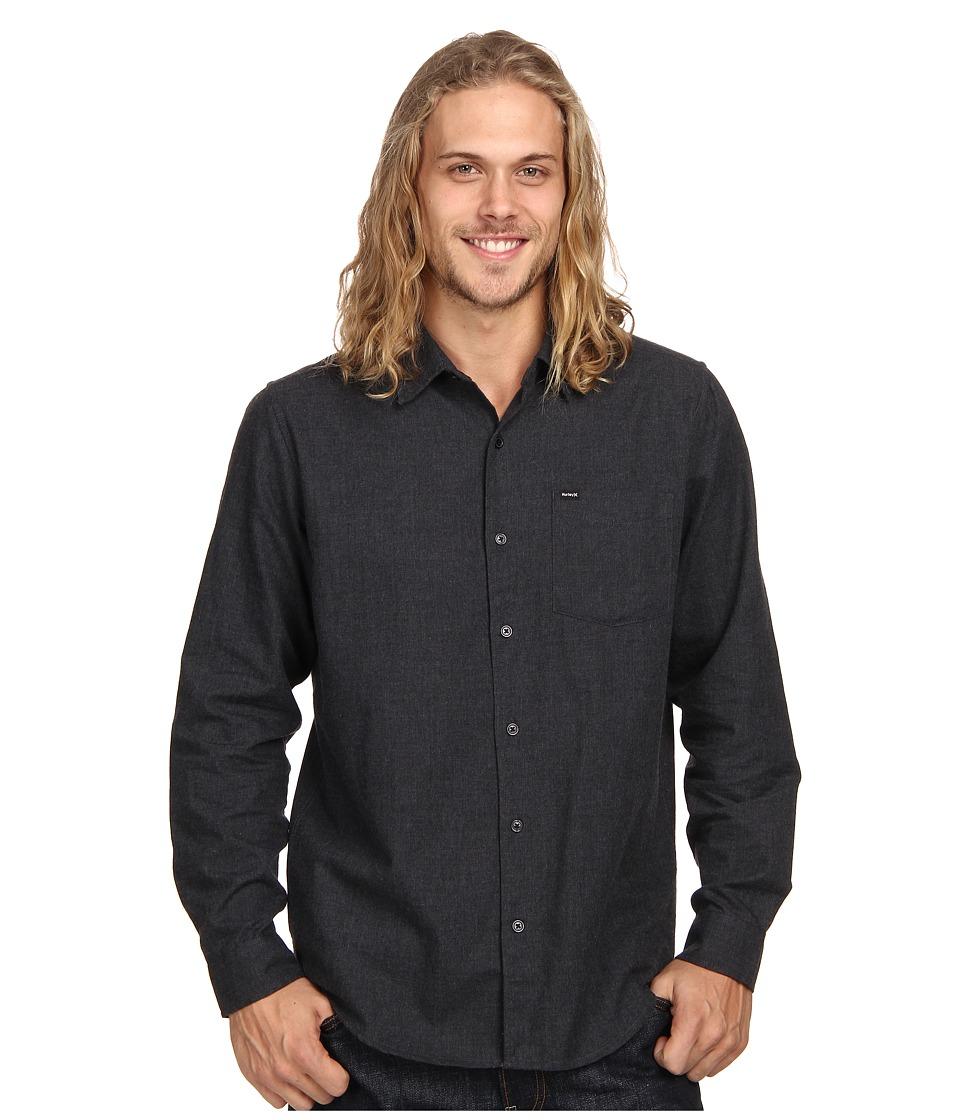 7ea9501867 UPC 888274464731 - Hurley L/S One Only 2.0 (Black) Men's Long Sleeve ...
