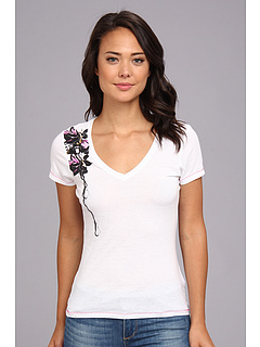 SALE! $14.99 - Save $15 on Fox Mind Games V Neck Tee (White) Apparel - 49.19% OFF $29.50