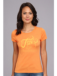 SALE! $11 - Save $14 on Fox Ink Crew Tee (Orange Flame) Apparel - 55.10% OFF $24.50