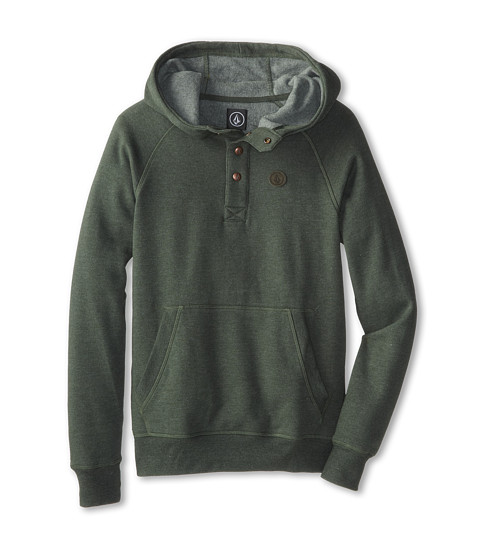 Volcom Kids - Pulli Pullover (Big Kids) (Jungle Green) Boy's Sweatshirt