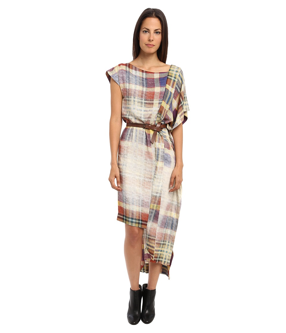 Vivienne Westwood Alaska Scarf Dress (Multi Plaid) Women