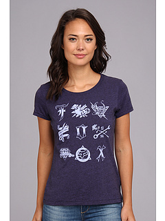 SALE! $10 - Save $12 on Fox Spirit Crew Neck Tee (Blue Steel) Apparel - 55.56% OFF $22.50