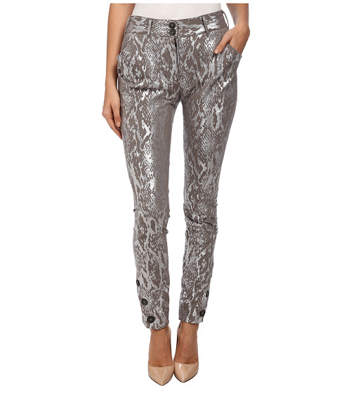 Vivienne Westwood Anglomania - Twisted Trousers (Grey) Women's Dress Pants