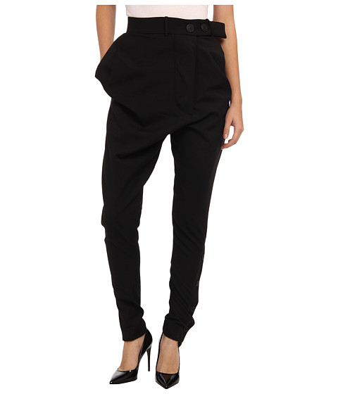 Vivienne Westwood Anglomania - Wizard Trousers (Black) Women's Casual Pants