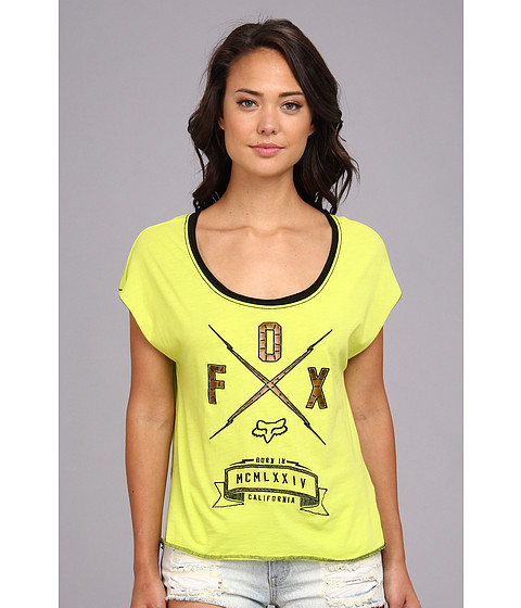 Fox - Life Line S/S Top (Kiwi) Women's T Shirt