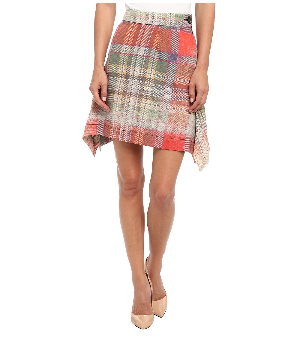 Vivienne Westwood - Lota Skirt (Green Multi) Women's Skirt