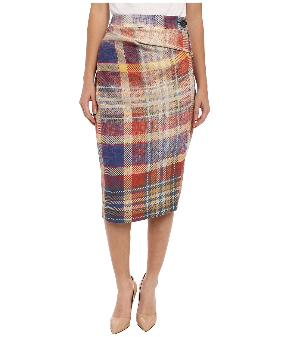 Vivienne Westwood Anglomania - Isolation Skirt (Multi Plaid) Women's Skirt