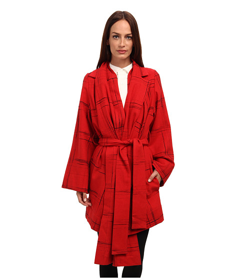Vivienne Westwood Anglomania - Discovery Coat (Red) Women's Coat