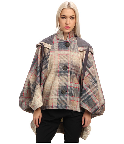 Vivienne Westwood Anglomania - Tiksi Cape (Multi Plaid) Women