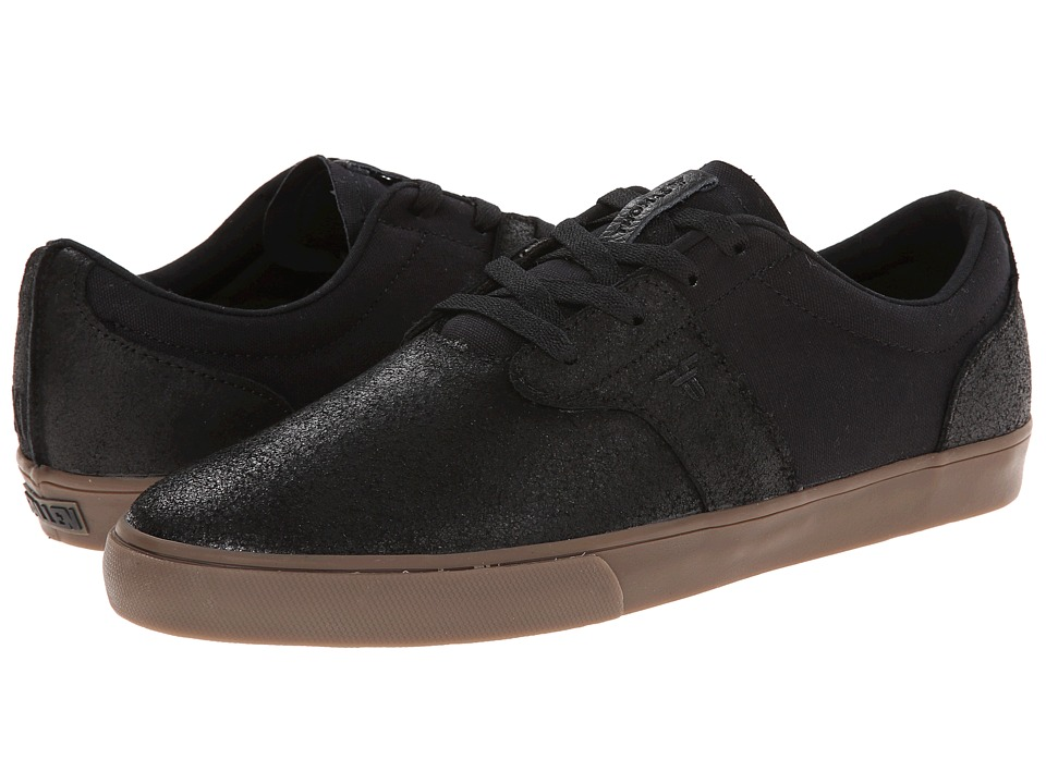 Fallen - Chief XI (Black/Gum) Men's Skate Shoes