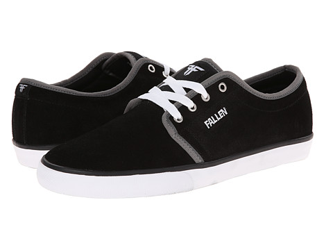 Fallen - Forte 2 (Black/White/Grey) Men's Skate Shoes