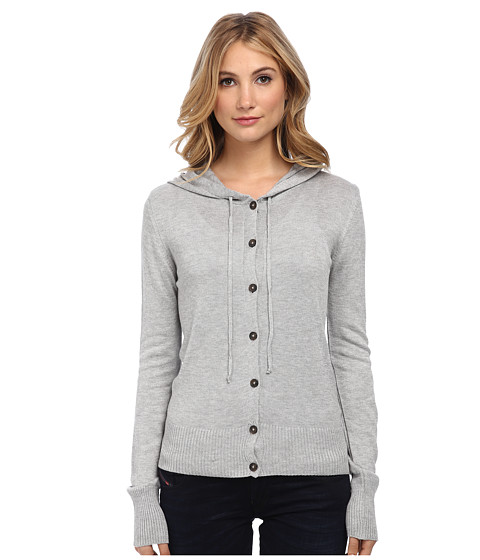 Vivienne Westwood Anglomania - Classic Hooded Cardigan (Grey) Women