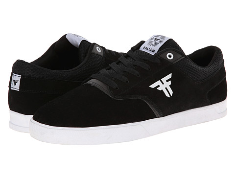 Fallen - The Vibe (Black/White) Men's Skate Shoes
