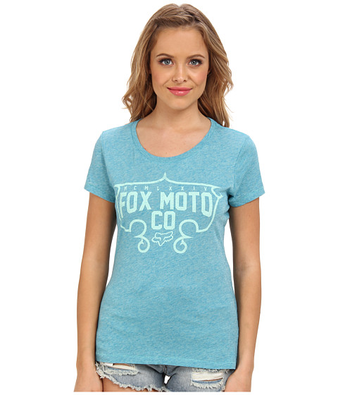 Fox - Exhilarate Crew Neck Tee (Indigo) Women